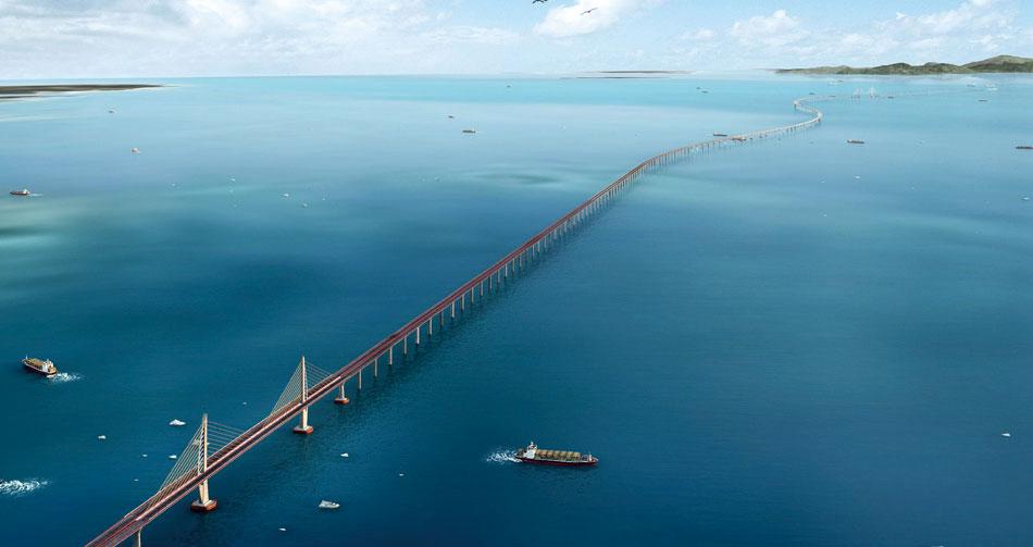 Макао самый длинный в мире мост