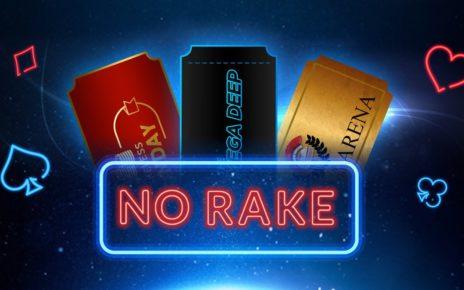 888poker проведут безрейковые турниры RakeLESS